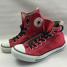 Converse Chuck Taylor All Star High Top Trainers, Red, Size UK 6, Shoes,Sneakers