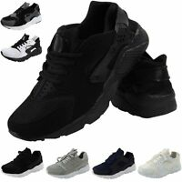MENS RUNNING FITNESS GYM SPORT HUARACHES BOY INSPIRED CASUAL LADIES TRAINER SHOE