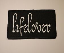 LIFELOVER Embroidered patch Swedish Black Metal USA SELLER FAST DELIVERY