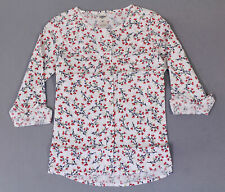 OshKosh Bgosh Girls Floral Ruffle Tunic Top AN3 White...