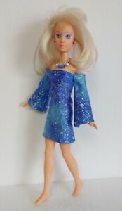 Hasbro Vintage JEM Clothes Shimmer DRESS & NECKLACE Handmade Fashion NO DOLL d4e
