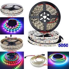 WS2812B 5V 5050 RGB LED Strip WS2812 IC 30 60 144 150 300 Led Individual Address