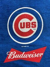 2 x 2016 CHICAGO CUBS BUDWEISER RALLY TOWEL MLB Memorabilia WORLD SERIES CHAMPS!
