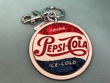 COACH Pepsi-Cola Key Ring Chain Bag Charm ~ F24537
