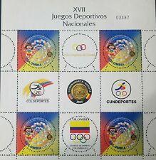 O) 2004 COLOMBIA, XVII NATIONAL GAMES SCOTT 1234 - CUNDINAMARCA-BOGOTA, INDIAN C