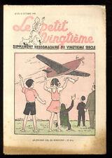 TINTIN LE PETIT TWENTIETH no.41 20 october 1938 IN SYLDAVIA HERGé