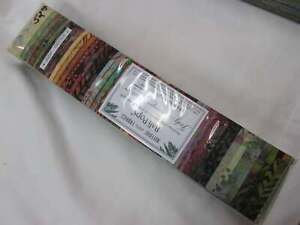 BALI POP Judy Neimeyer JNBP Group 2 48 2.5 Inch Strips Cotton Batik Fabric OOP