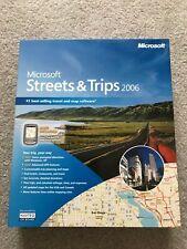 Microsoft Streets & Trips 2006 B17-00285 NIB