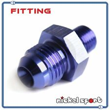 4AN AN4 to M12 x 1.25 Metric Straight Aluminum Fitting Adapter