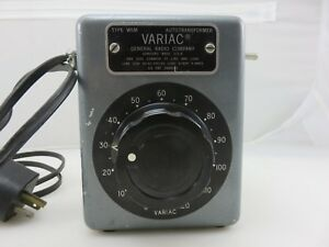 General Radio Company VARIAC Type W5M Autotransformer 120V MODIFIED Made In USA