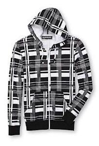 Hoodie Buddie Zip Sweatshirt Jacket Earbuds MP3 Headphones Sz S New Small Mens
