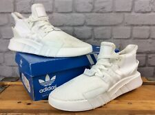 ADIDAS OG MENS UK 10 EU 44 2/3 EQT BASKETBALL ADV TRAINERS TRIPLE WHITE J
