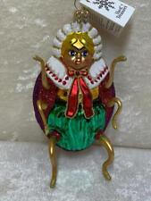 Slavic Treasures Retired Hand Blown Glass Ornament The Ladys A Bug