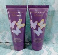 2 New MARIAH CAREY DREAMS Shimmering Body Lotion for Women ~3.4 oz Each ~ No Box