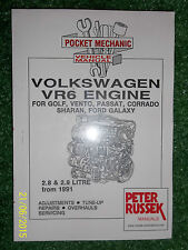 VW VOLKSWAGEN 2.8L 2.9L VR6 DIESEL ENGINE WORKSHOP MANUAL GOLF VENTO PASSAT '91>