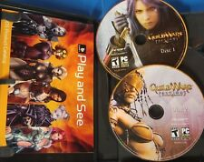 Guild Wars: Factions (PC, 2006) Sleeve, Box Mnaual, 2 Discs, Key       S-4