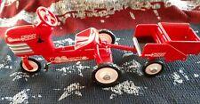 Hallmark Kiddie Car Classics 1955 Murray Tractor & Trailer Miniature Kiddie Car