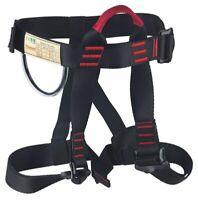 Safety Tree Rock Climbing Rappelling Harness Seat Sit Waist Belt Climbing Tool