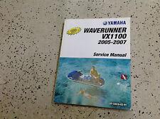 2005 2006 2007 Yamaha WaveRunner VX1100 Repair Workshop Service Shop Manual