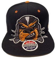 "Zephyr Ncaa Tennessee Volunteers ""Menace"" Flat Bill SnapBack Hat New With Tags"