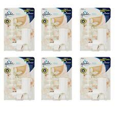 6 pz Diffusore GLADE Electric Scented Oil ROMANTIC VANILLA BLOSSOM con ricarica
