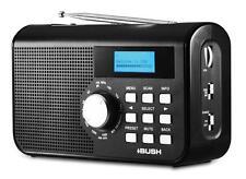 "BUSH BR30DABAM PORTABLE DAB RADIO WITH AM/FM - AC/DC POWER (""REFURBISHED"")"