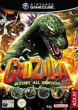 GODZILLA DESTROY ALL MONSTERS  GAMECUBE GAME PAL