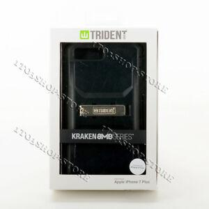 Trident Kraken iPhone 7 Plus & iPhone 8 Plus Hard Case w/Holster Belt Clip Black