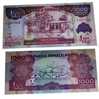Pick 20 Somaliland 1000 Shillings 2011 Unc. / 618028vvv