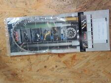 ABM Stahlflex Bremsleitung Honda CBR600 für Superbike Umbau Motorrad CBR 600