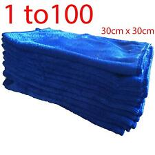 1-100 Microfibre Professional Cleaning Cloths Car Dusters Bathroom Polish Towels