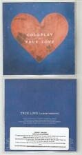 "COLDPLAY ""TRUE LOVE""  OFFICIAL UK CD PROMO + PRESS STICKER"