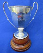 English Sterling Silver Park Golf Club Roberts Challenge Loving Cup Trophy 1930