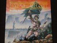 "Deathrow ""Raging Steel"" Original LP. 1st pressing w/insert. 1987. VERY RARE !"