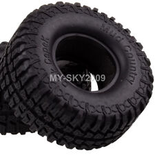 """4pcs Dick Cepek Mud Country Tires 1.9"""" Tyre 100mm 7036 For RC Rock Crawler Truck"""