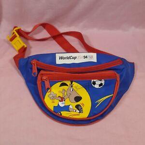 WORLD CUP USA 1994 * KIDS FANNY PACK *  U.S.A. SOCCER TEAM * 1991 WC'94/ISL *