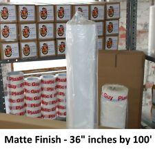"""FREE SHIPPING Matte Poly Vinyl Banner Polypropylene 36"""" x100FT Inkjet Printing"""