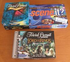 Lord of the Rings DVD Trivial Pursuit, Scene It? DVD Game & More - Leicester LE3