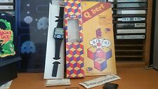 Nelsonic qbert game watch with box taken apart and cleaned with sound!