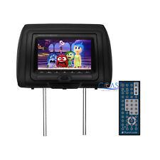 "Planet Audio Headrest LCD Monitor 7"" P-LINK Car Media DVD Player HDMI USB MP3"