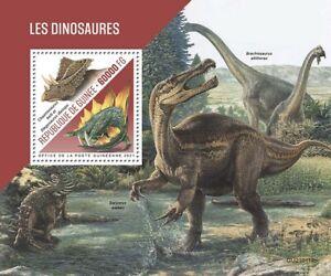 Guinea Dinosaurs Stamps 2021 MNH Prehistoric Animals Stegosaurus 1v S/S