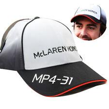OFFICIAL F1 MCLAREN MP4-31 FERNANDO ALONSO CAP FORMULA ONE 1 BASEBALL RACING HAT