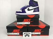 Air Jordan 1 Court Purple Sz 8