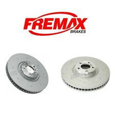 BMW F15 E70 X5 X6 Pair Set of Front Left and Right Disc Brake Rotors Fremax