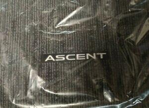 2019 Subaru Ascent OEM Black Floor Mat Complete Set BRAND NEW J505SXC000