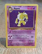 Hypno 23/62 Rare Non Holo, Pokemon Card, Fosssil Set, WOTC