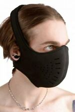 Strict Leather Neoprene Snap On Face Mask Protection smoke breathing