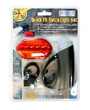 BoyzToys Ry577 Quick Fit Bicycle Light Ratchet Design with 5 Powerful Leds - New