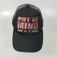 Out Of My Mind Back In 5 Mins Adjustable Trucker Cap Hat