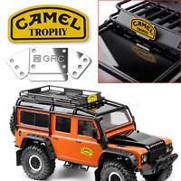 Metal Camel Trophy Logo Aufkleber Für Traxxas TRX4 Land Rover Defender D90 RC4WD